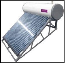 真空管式ソーラー温水器水道直結型